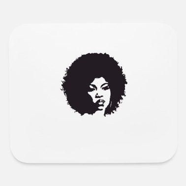 Afro afro - Mouse Pad