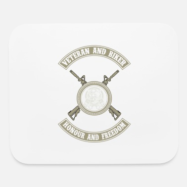 Veteran biker - Honour and freedom - Mouse Pad