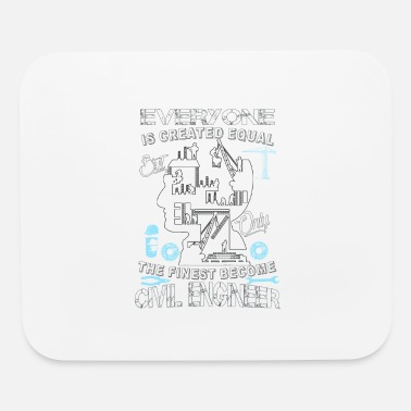 Engineering Civil engineer - The finese become civil engineer - Mouse Pad