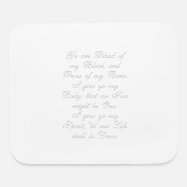 Wedding Vows Outlander Wedding Vows - Mouse Pad