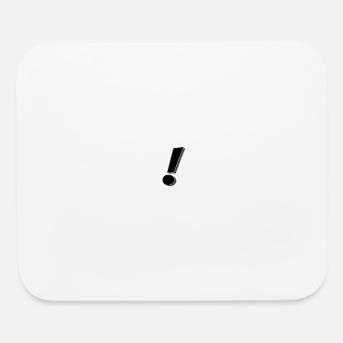 Exclamation Mark exclamation mark - Mouse Pad