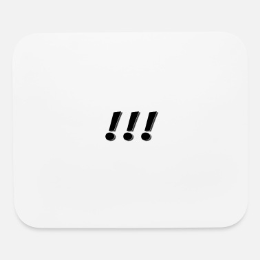 Exclamation Mark Exclamation Marks - Mouse Pad