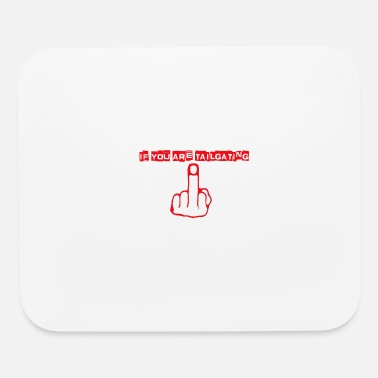 Tailgating tailgating red.png - Mouse Pad