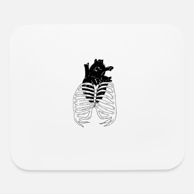 Caged Heart Cage - Mouse Pad