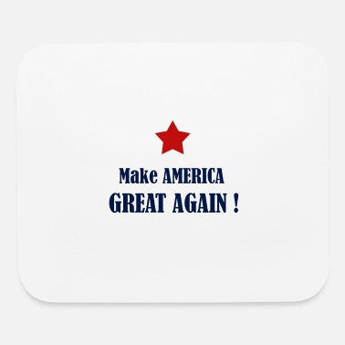 Make USA great again t-shirt ! - Mouse pad Horizontal