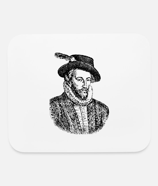 North Carolina Mouse Pads - Sir Walter Raleigh - Mouse Pad white