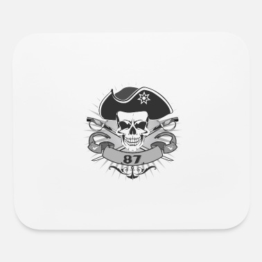Pirate Skull pirate skull - Mouse Pad