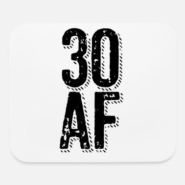 30 AF - 30th birthday gift - Mouse pad Horizontal