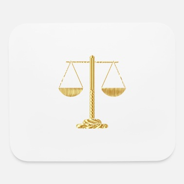 Justice-authority justice - Mouse Pad