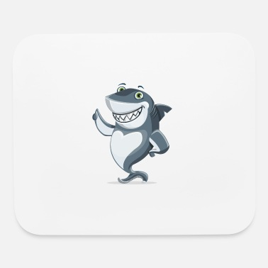 Amusing amusing shark - Mouse Pad