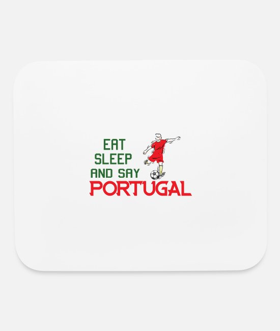 Honor Mouse Pads - Portugal wins present - Mouse Pad white