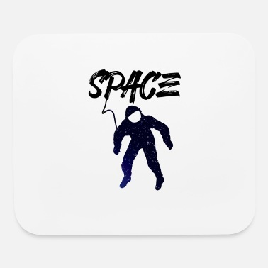 80s Sayings Geek Cool astronaut - Mouse Pad