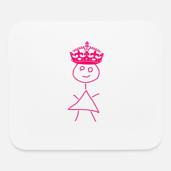 Wife Mouse Pads - Queen - Mouse Pad white
