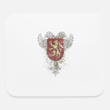 Family Crest Lion Family Crest Coat of Arms - Mouse Pad