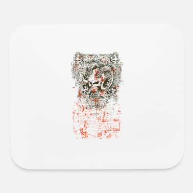 Inferno Demons Inferno Skull design - Mouse Pad