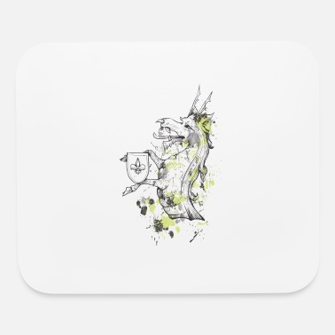 Family Crest Dragon Family crest - Mouse Pad