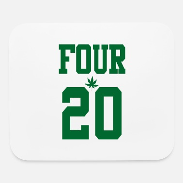 420 Hemp Cannabis Lover Stoners Birthday - Mouse Pad