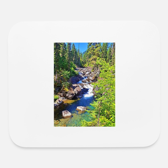 Grave Mouse Pads - graves creek - Mouse Pad white