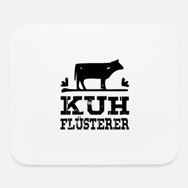 Cow Whisperer Cow whisperer - black - Mouse Pad
