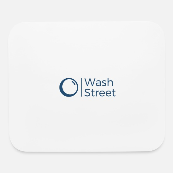 Wash Mouse Pads - wash street - Mouse Pad white
