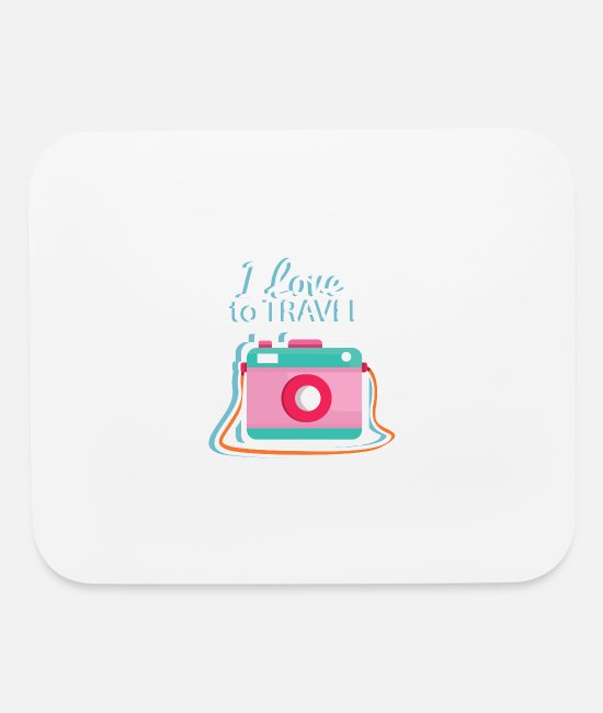 Love Mouse Pads - Design - Mouse Pad white