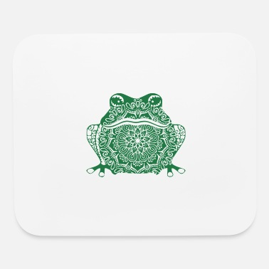 Tool MANDALA FROG TOAD ART DESIGN T-SHIRTS AND GIFTS - Mouse Pad