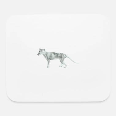 Tasmanian Tiger Sketch - Mouse Pad