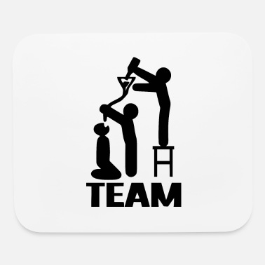 Drinking drink drink drink team - Mouse Pad