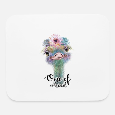One Of A Kind One Of A Kind Ostrich - Mouse Pad
