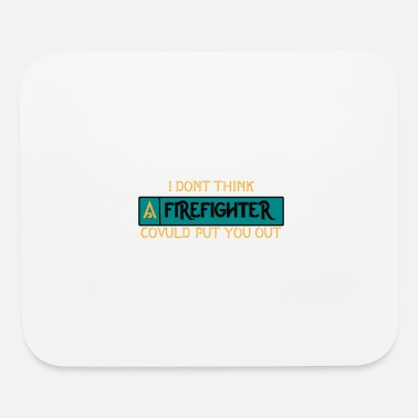 Marshall Fire fighter Gift - Mouse Pad