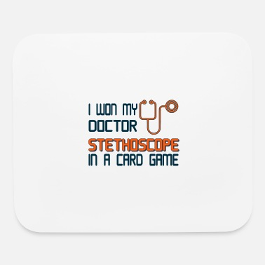 Time To Doctor stethoscope Gift - Mouse Pad