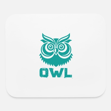 Nocturnal Bird Owl Bird Gift - Mouse Pad