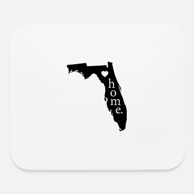 State Florida State Love Gift- Home -Pride/Proud Patriot - Mouse Pad