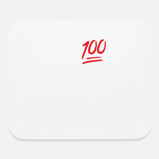 Famous Mouse Pads - 0 To 100 Real Quick Sloga - Mouse Pad white