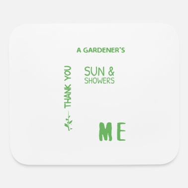 Gardener Prayer Shirt - Mouse Pad