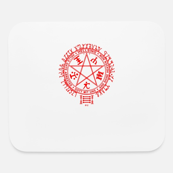 Parody Mouse Pads - Hellsing Clans - Mouse Pad white