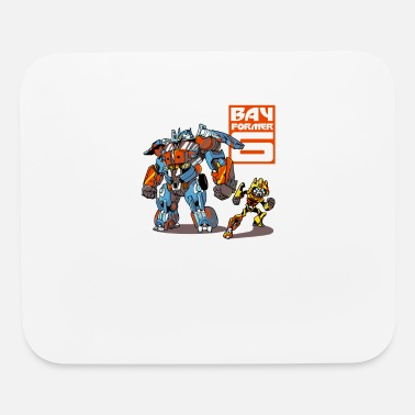 Former BAY FORMER SIX TRASFORMERS BUMBLEBEE - Mouse Pad