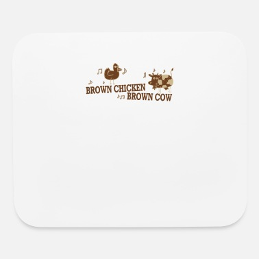 Brown Brown Chicken Brown Cow - Mouse Pad