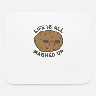 Mash Up Life Is All Mashed Up - Mouse Pad