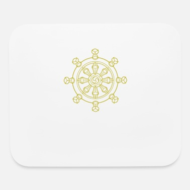 Wheel Dharma Wheel - Mouse Pad