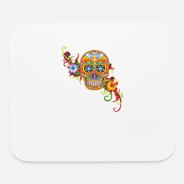 Women s Sugar Skull Purple - Mouse Pad