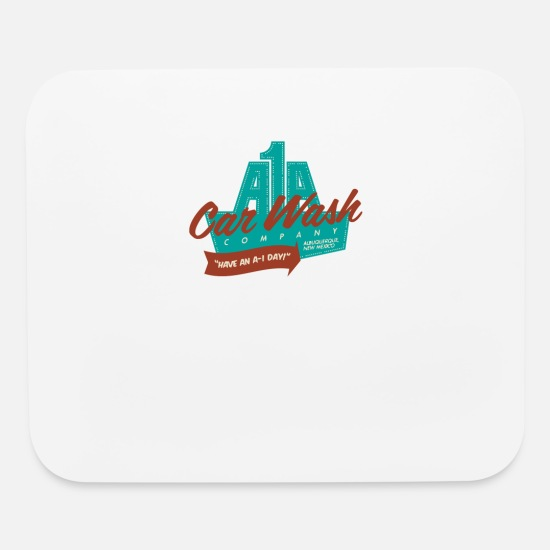 Car Mouse Pads - A1A Car Wash - Mouse Pad white
