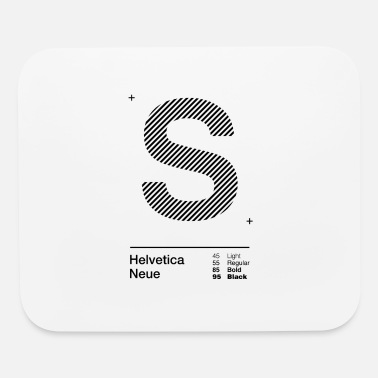 Initial s Strips - Mouse Pad