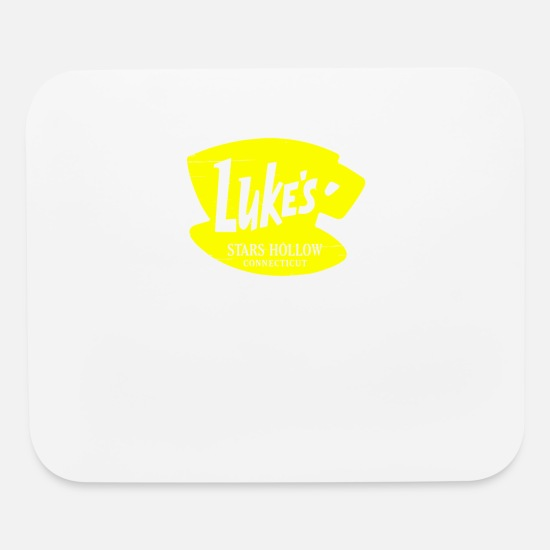 Game Mouse Pads - Luke s Diner - Mouse Pad white