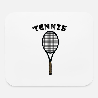 Racket Tennis with racket - Mouse Pad