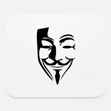 Guy Fawkes Guy Fawkes mask - Mouse Pad