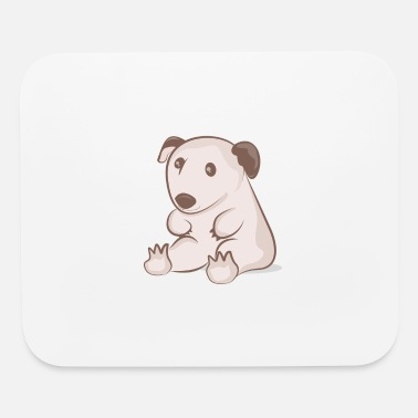 Sit-ups Sitting wombat - Mouse Pad