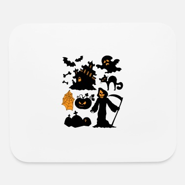 Set Set Of Halloween - Mouse Pad