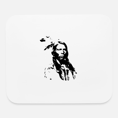 Lakota Lakota Sioux Native American Indian Pride Warrior - Mouse Pad