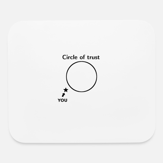 e832c731f0146d Circle of trust - Circle of Trust Mouse Pad | Spreadshirt